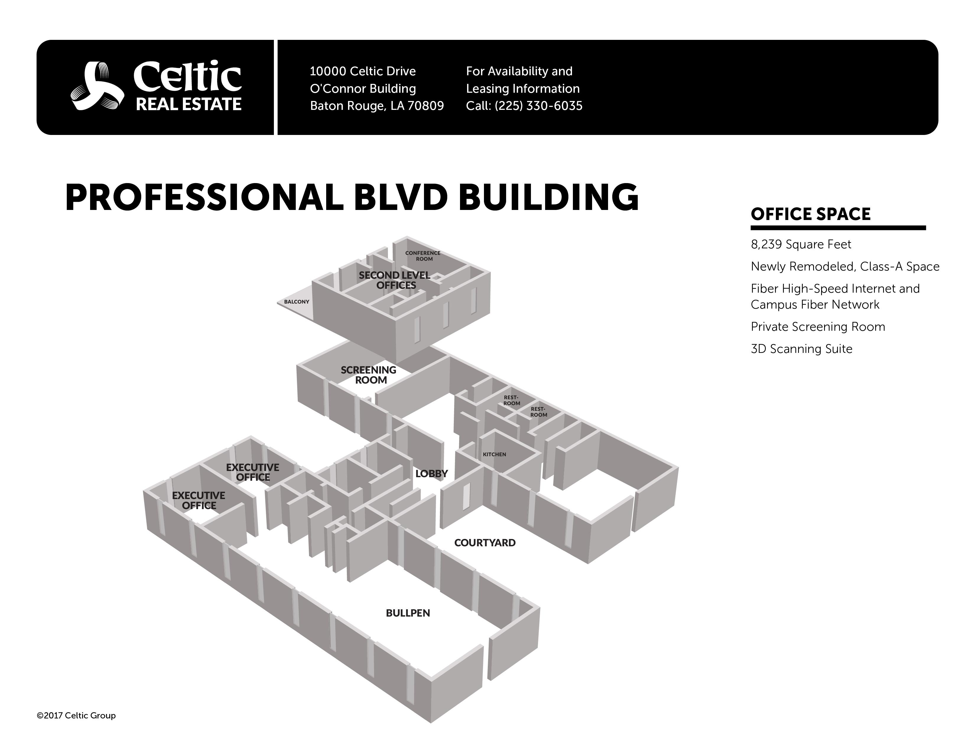 Celtic Real Estate Celtic Media Centre Baton Rouge LA